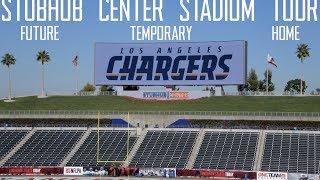 StubHub Center Stadium Tour | Future home LA NFL Chargers | Lumix G7