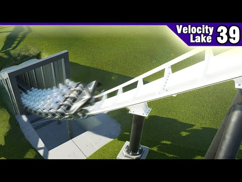 Velocity Lake (ep. 39) -  Tunnelling and Smoothing   Planet Coaster