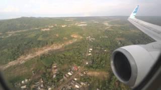 preview picture of video 'Garuda Indonesia Boeing 737-800NG GA138 Landing at Pangkal Pinang'