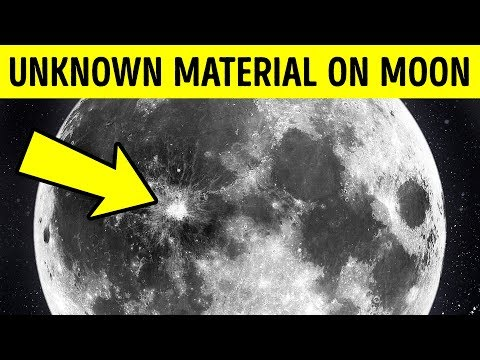 Scientists Discovered Unknown Material on the Moon but Can't Explain It
