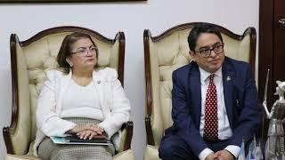 Procuradora de PDDH firma Carta de Entendimiento con Homólogo Guatemalteco para Evitar Violaciones a