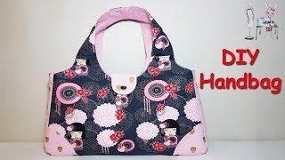DIY HANDBAG | DIY BAG TUTORIAL | TOTE BAG | SHOULDER BAG | BAG SEWING TUTORIAL