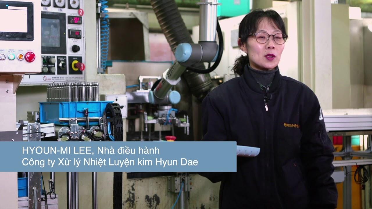 Công ty Xử lý Nhiệt Luyện kim Hyun Dae triển khai Robot Universal ...