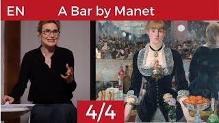 A Bar at the Folies Bergère by Manet
