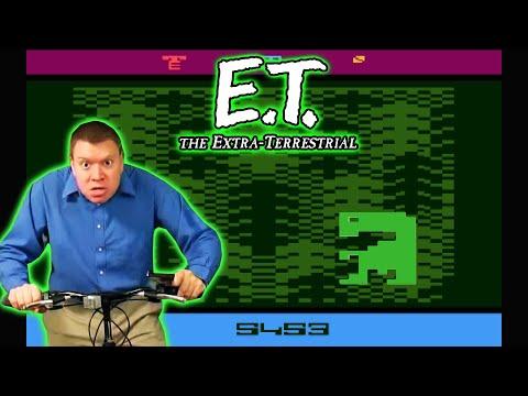 E,T, ATARI Video Game IRATE Gamer Review