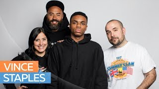 Hot 97 - Vince Staples Gets Real & Uncensored w/ Ebro in the Morning