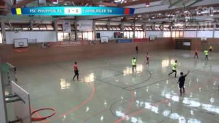 preview picture of video 'FSC Philippsburg - Hamburger SV Futsal'