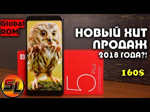 Обзор Xiaomi Redmi 5 Plus (4/64Gb, Global, black)