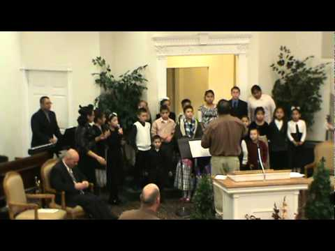 """""""going up to the high places"""" apostolic tabernacle kids choir in casa grande az."""
