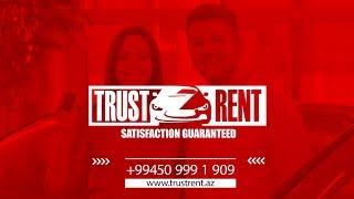 Rent a car Baku from TRUST RENT company presentation
