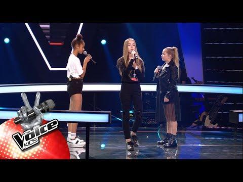 Jade, Laura & Lotte -  'Better Now' | The Battles | The Voice Kids | VTM