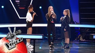 Jade, Laura & Lotte    'Better Now' | The Battles | The Voice Kids | VTM