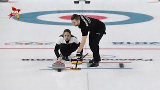 Первую в истории российского керлинга медаль завоевал дуэт Брызгалова Крушельницкий