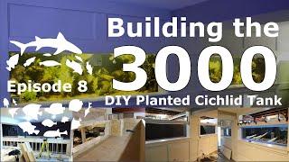 Episode 8 :: Building a 3000 Gallon DIY plywood / epoxy Planted Amazon Big Cichlid Aquarium.