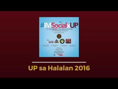 GMA Youscoop's #IMSocialxUP