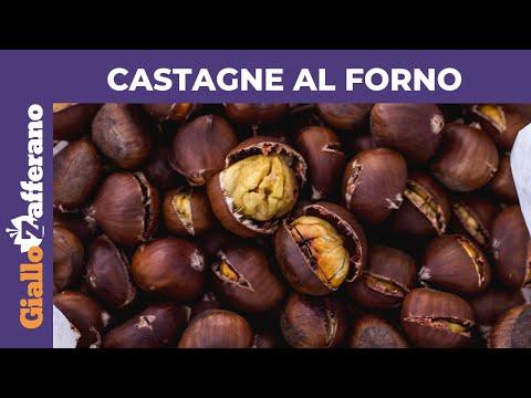 CASTAGNE AL FORNO: MORBIDE E FACILI DA SBUCCIARE