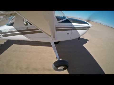 Cessna 150H Tailwheel - TO & Landing