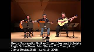 Ensemble We Are The Champions