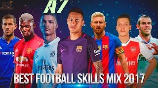 Best Football Skills mix 2017 ● Messi ● Neymar ● Ronaldo ● Ozil ● Pogba & More