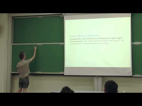 Math Student Presentations: Divergence and Thickness in Coxeter Groups