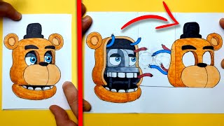 CREATE YOUCREATE YOUR FNAF ANIMATRONICS - Five Nights at Freddy's   CHALLENGE   You cant hide!