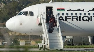 Libyan plane with 109 aboard hijacked to Malta. Libyan Airline Plane Hijacked. Dec 23, 2016.