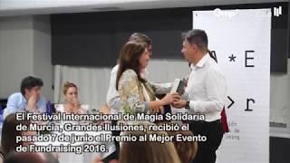 Grandes Ilusiones, Premio Mejor Evento de Fundraising 2016