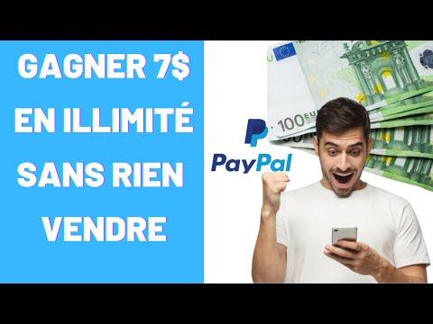 Gagner 7$ Paypal avec ce site internet sans vendre de produit (argent paypal gratuit)