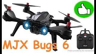 Квадрокоптер MJX Bugs 6 с HD камерой и передатчиком 500 мВт | MikeRC 2017 FHD