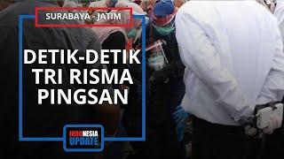 Video Detik-detik Tri Risma Pingsan di Pemakaman Kepala DPA5A, Kenang Sosok Almarhumah yang Hebat