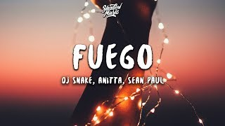 DJ Snake   Fuego (Lyrics) Ft. Anitta, Sean Paul, Tainy