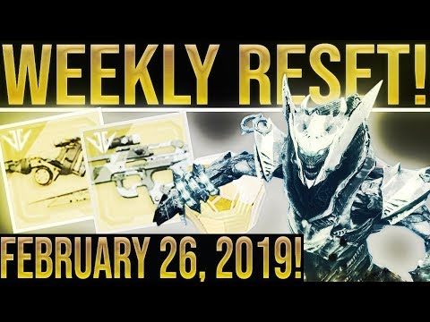 Destiny 2. FINAL SEASON 5 WEEKLY RESET! Triple Infamy, Joker's Wild Tips, Nightfalls, Powerful Gear
