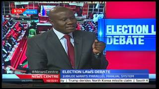 News Center: Election laws debate interview with Betty Kyalo part 1