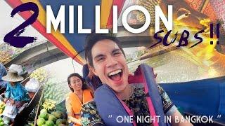 "2 MILLION SUBS!!! ""One Night in Bangkok!"" | Sam Tsui"