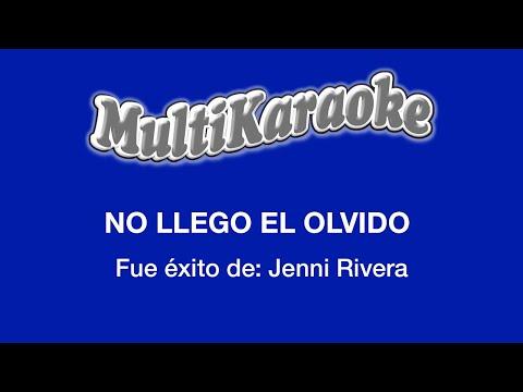 No llega el olvido Jenny Rivera