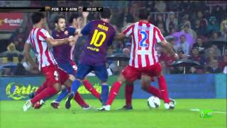 FC Barcelona 5-0 Atlético Madrid - Highlights 24/09/2011.mp4