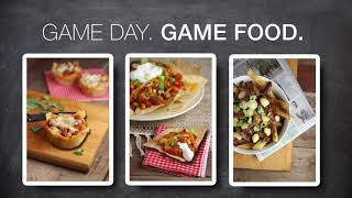 Game Day. Game Food. (Football)
