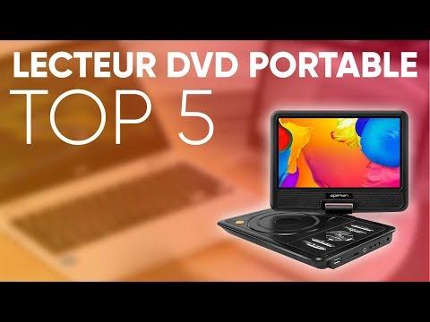 TOP5 : MEILLEUR LECTEUR DVD PORTABLE