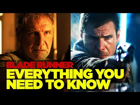 Blade Runner Original RECAP - Everything You Need to Know Before Blade Runner 2049