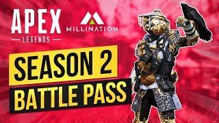 NEW APEX LEGENDS SEASON 2 BATTLE PASS CONTENT COMING SOON!