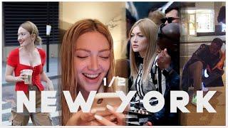 New York Vlogu Part 2 | İçimi Döktüm, Canlı Yayın ve Defilelere Katıldım!
