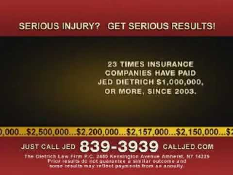 Dietrich Law Firm PC Jed Dietrich You Want the Best Buffalo Injury Lawyer