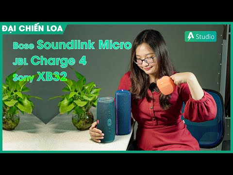 [Đại chiến loa] Bose Soundlink Micro vs JBL Charge 4 vs Sony SRS-XB32| Chọn loa nào tầm 3 triệu???