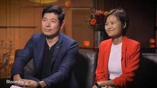 Grab Co-Founders Anthony Tan and Hooi Ling Tan on 'Bloomberg Studio 1.0'