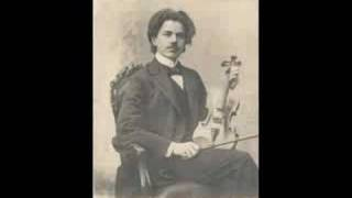 Jan Kubelik plays Paganini Caprice 6