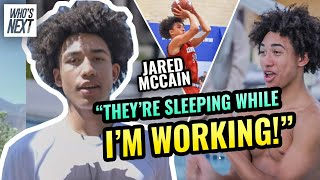 """""""I Live In The Gym 24/7."""" Jared McCain Is Proving HATERS WRONG! Day In The Life With TIKTOK STAR 🔥"""