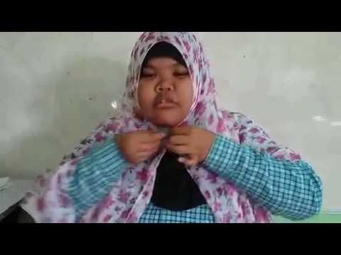 Video [[Baru]]  Tutorial Hijab Pashmina Wajah Bulat