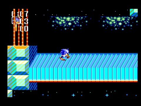 Sonic Chaos: Gigalopolis Zone Act 1 [1080 HD]