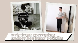 RECREATING AUDREY HEPBURNS OUTFITS (Style Icon/Timeless Style) W/ Lilysilk [AD] | Mademoiselle