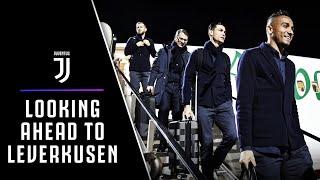 CHAMPIONS LEAGUE ⭐️ | JUVENTUS LOOKING AHEAD TO LEVERKUSEN   | PJANIC & SARRI SPEAK